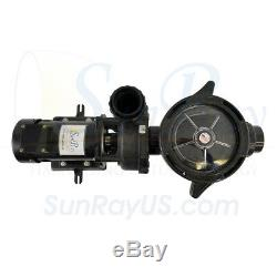 0.5HP SunRay Solar Swimming Pool Pump DC Motor Inground Variable 90v Spa Pond
