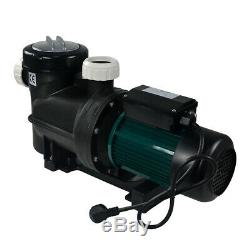 0.75HP 0.55KW 3/4 HP Inground Above-Ground Filtration Swimming Pool Pump 220V