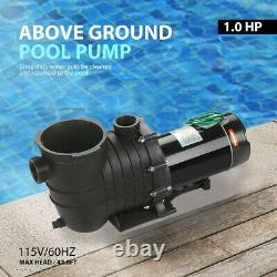 1.0 HP In-Ground Swimming Pool Pump Motor Strainer Replacement For Hayward