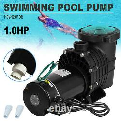 1.0 Hp Self Priming Swimming Pool Pump Dual voltage In Ground &Above Ground