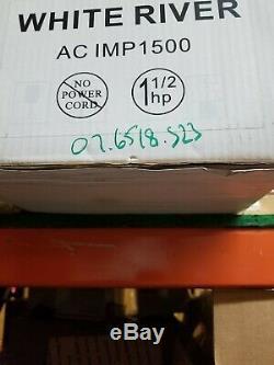 1 1/2 HP 3450 RPM 115/230 Volts Inground Swimming Pool Pump