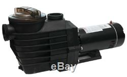 1.5/2HP 115-230v IN GROUND Swimming POOL PUMP MOTOR with Strainer 2 thread NPT