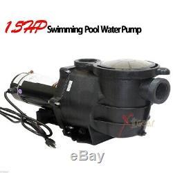 1.5 HP 220v Inground Above Ground Swimming Pool Water Pump 5280gph