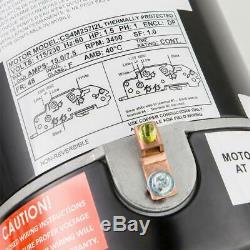 1.5 HP In-Ground Pool Pump Single Speed 115/230-Volt Dual Watt