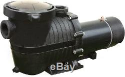 1.5 HP Supreme In Ground Swimming Pool Pump 115V/230V 1.5 Ports With 115v Cord