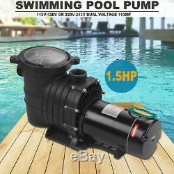 1.5 Hp Self Priming Swimming Pool Pump Dual voltage In Ground &Above Ground A++