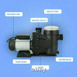 1.5HP 2 Swimming Pool Pump Motor Hayward withStrainer Generic In/Above Ground UL