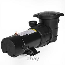 1.5HP 4500GPH Above Ground Swimming Pool Pump with Strainer UL LISTED 1-1/2 NPT