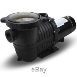 1.5HP 5280GPH Inground Swimming Pool Pump with Strainer UL LISTED In-Ground 1.5 HP
