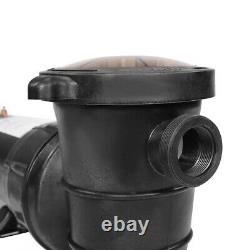 1.5HP Above Ground Swimming Pool Pump Spa High Flow 1.5 Fitting Strainer 115V