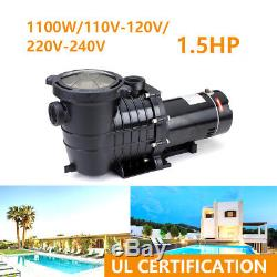 1.5HP In-Ground Swimming Pool Pump Motor-Strainer Generic Hayward Replacemen