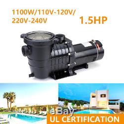 1.5HP In-Ground Swimming Pool Pump Motor Strainer Generic Hayward Replacemen JF