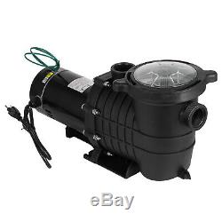 1.5HP In-Ground Swimming Pool Pump Spa Motor Water Strainer Above Ground