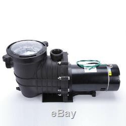 1.5HP InGround Swimming Pool Pump Motor with Strainer Generic Hayward Replacement