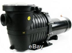 1.5HP Inground Above-Ground Swimming Pool Pump Water Strainer Basket 115/230V