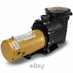 1.5HP Inground Swimming Pool Pump Large Strainer 115/230v Hayward Replacement