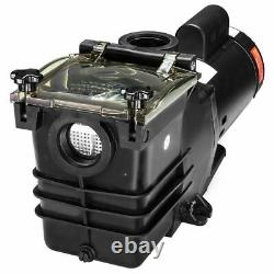 1.5HP Super Flow Swimming spa pool pump motor Strainer Above In Ground 115/230v