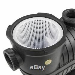 1.5HP Swimming Pool Pump Inground with Large Strainer Hayward Replacement 115/230v