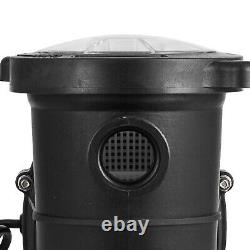 1.5HP Swimming Pool Pump Motor Strainer With Cord In/Above Ground