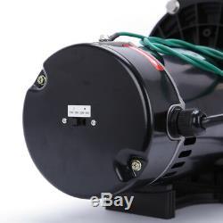 110-240V InGround Swimming Pool 1.5HP Portable Pump Motor+Filter Above Ground