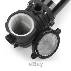 110-240v 2HP Inground Swimming Pool pump motor Strainer Hayward Replacement