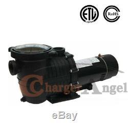 115-230v 1.5HP Inground Swimming Pool pump motor Strainer Hayward Replacement