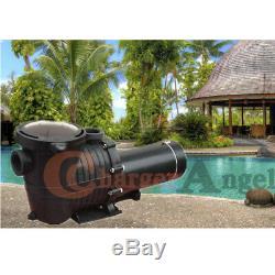 115-230v 2HP Inground Swimming Pool pump motor Strainer Hayward Replacement