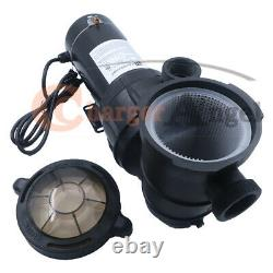 115V 1 1/2HP Above ground Swimming Pool pump motor Strainer Hayward Replacement