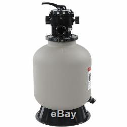 16 Swimming Pool Sand Filter Above Inground Pond Fountain Fit 1/2HP 3/4HP Pump