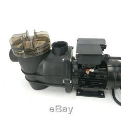 180 W Swimming Pool Spa Water Pump Strainer Motor Self-priming for in-ground