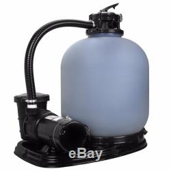 19 Sand Filter with 1.5HP SET Above/IN Ground Swimming Pool Pump System 4500GPH