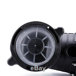 1HP 110-120V In-Ground Swimming Pool Pump Motor Strainer Above Ground UL Listed/