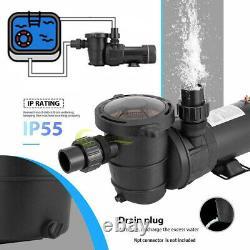 1HP 115V Above ground 3450 RPM Swimming Pool pump motor Strainer 5280GPH 60hz