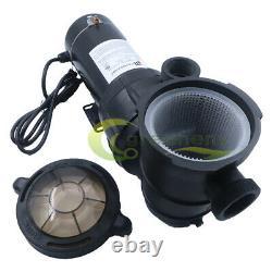 1HP 115V Above ground Swimming Pool pump motor Strainer 5280GPH Portable