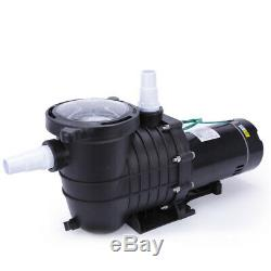 1HP In Ground Swimming Pool Motor Pump Strainer Hayward Replacement Portable gf