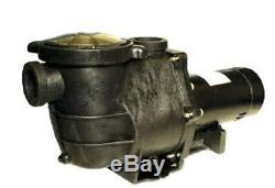 1HP Maxiforce In Ground Swimming Pool Pump 115/230V 2 Inch Threaded FREE SHIP