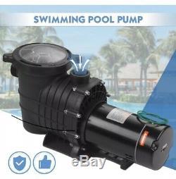 2.0HP Dual Voltage115/230V Swimming Spa Pool Water Pump Motor Strainer Inground