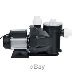 2.5HP Electric Pump Motor 110V In Ground Above Ground Swimming Pool With Filter
