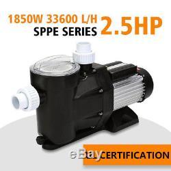 2.5HP IN Ground Swimming Pool Pump MOTOR Strainer 110V SPA Pump Above Inground