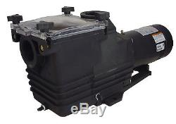 2 HP 3450 RPM 230 Volts Two Speed Inground Swimming Pool Pump