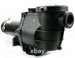 2 HP Replacement Swimming Pool Pump Motor with Strainer Basket