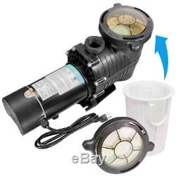 2-Speed 1 HP Inground Swimming Pool Pump