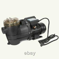 2400GPH 13 Sand Filter Above Ground Swimming Pool Pump intex compatible
