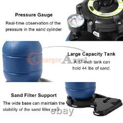2700GPH 12 Sand Filter Above Ground Swimming Pool Pump intex compatible