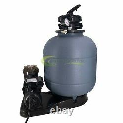 2800GPH 16 Sand Filter Above Ground 0.5HP Swimming Pool Pump intex compatible