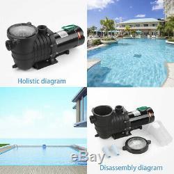 2HP 110-240V Hayward Inground Swimming Pool pump motor Strainer Replacement US