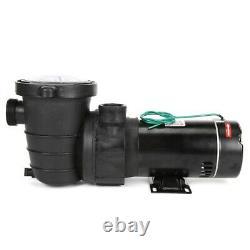 2HP 115V Inground Swimming Pool Pump Motor Water Pump With Strainer Filter Baske