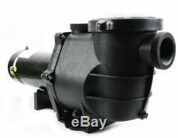 2HP Energy Saving In Ground swimming Pool Pump 5850 GPH 2 speed motor 2 thread