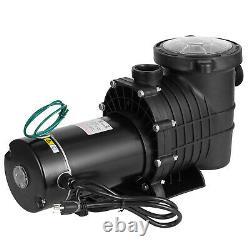 2HP Hayward Swimming Pool Pump Above Ground Pool Filter Pump Motor Strainer