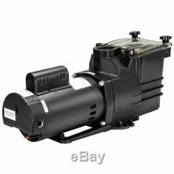 2HP Swimming spa pool pump motor Strainer above In ground 115230v super flow